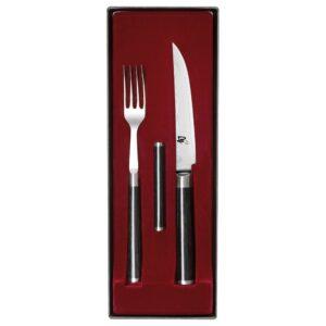 Набір для стейка DM-0907 (вилка+ніж+підставка)