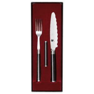 Набір універсальний DM-0908 (вилка+ніж+підставка)